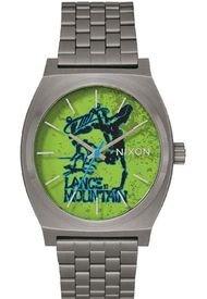 Reloj Time Teller Gunmetal Mountain Nixon