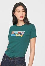 Camiseta Verde-Multicolor Levi's