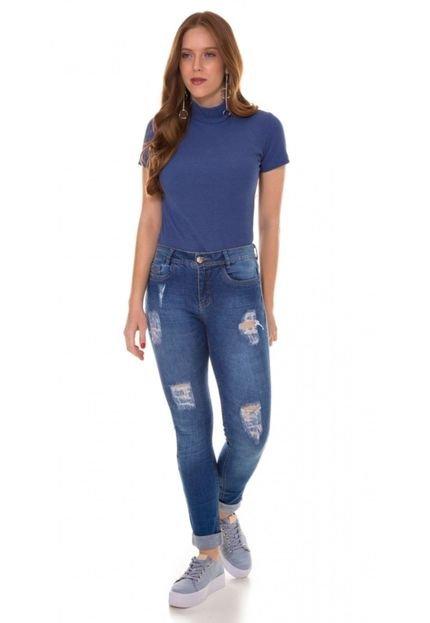 Use Jeans Calça Jeans Express Skinny Jandore Azul PDdmK