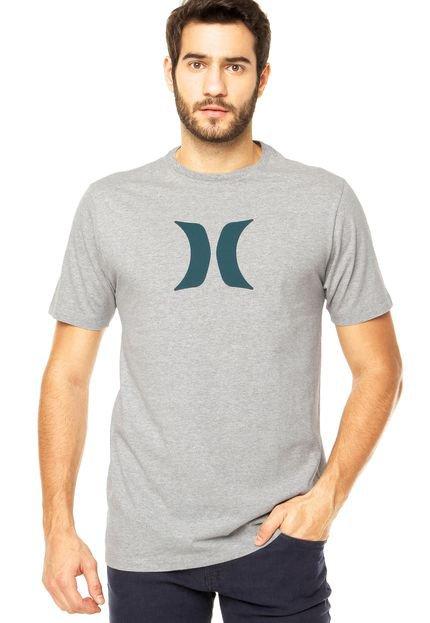 Camiseta Hurley Icon Cinza