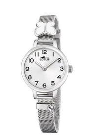 Reloj Junior Collection Plateado Lotus