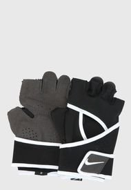 Guantes de Entrenamiento Negro-Gris Nike premium ftness glove