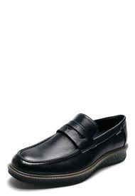 Zapato Mocasin Negro Pierre Cardin PC8663-A