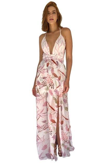 Miesse Vestido Festa Miesse Grécia Rosa tYCOY