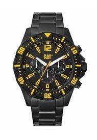 Reloj Negro Cat Steer Multifunción