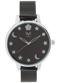 Reloj Negro 19v69 Italia