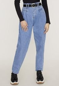 Jeans Slouchy Cinturón I Azul Claro  Corona