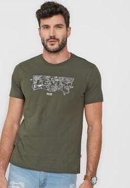 Camiseta Verde-Negro Levi's