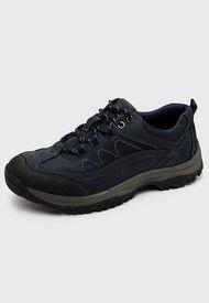 Zapato Cuero Azul Nat Geo