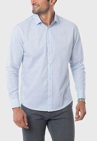 Camisa Spandex Print Celeste Arrow