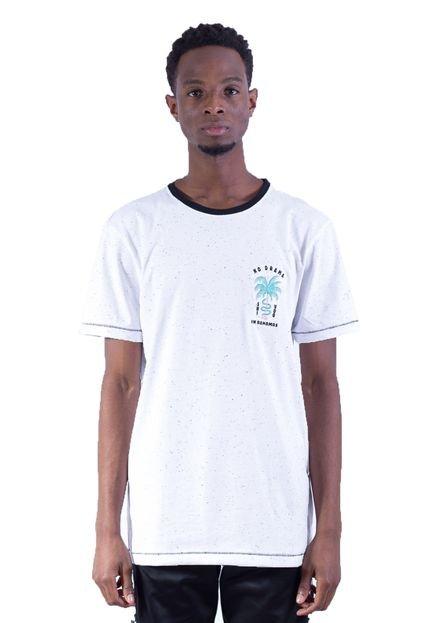 Camiseta Shivoo Comfort No Drama Branca