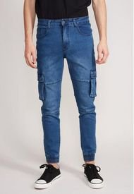 Jeans Cargo Load Azul Sioux