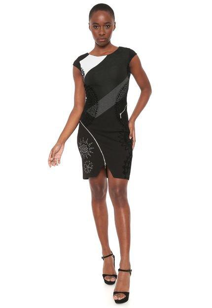 Desigual Vestido Desigual Curto Lidia Preto