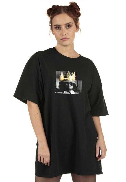 Skull Clothing Blusa Skull Clothing Lamar King Preta 6ewNs