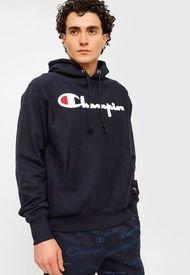 Polerón Champion Reverse Weave Po Hood Azul - Calce Regular