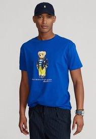 Camiseta Azul-Amarillo Polo Ralph Lauren