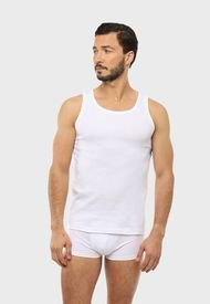Camiseta Bipack Sin Mangas Blanco Arrow