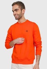Buzo Naranja-Negro Calvin Klein