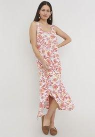 Vestido Vuelos II Coral - Mujer Corona