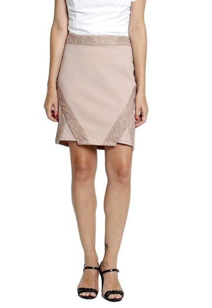Energia Saia Godê Energia Fashion Rosa DfRM4