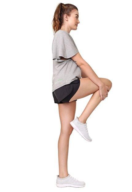 Lupo Sport Camiseta Lupo Sport Lettering Cinza