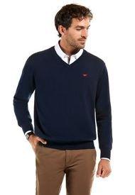 Sweater Business Azul Ferouch