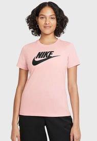 Polera Nike W NSW Tee ESSNTL Icon Futur Rosa - Calce Regular