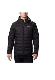 Campera Negra Columbia Delta Ridge Down Hooded Jkt