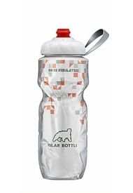 Termo 20 Onz Naranja Polar Bottle. Tapa Zip Stream