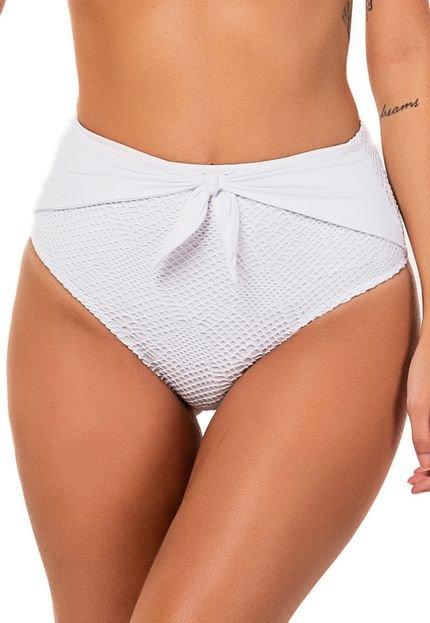 flee! Biquini Flee! Hot Pant Branco IsroV