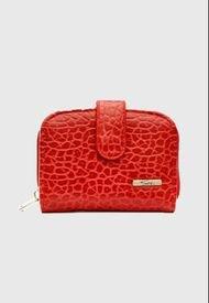 Billetera Monedero Modelo 29196 Rojo Sei