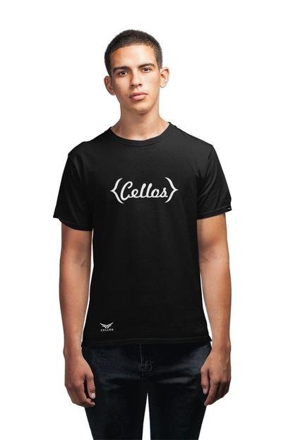 Camiseta Cellos Retro Premium Preto