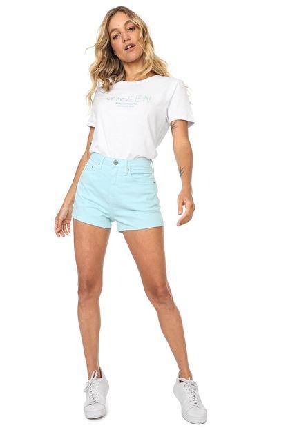 Calvin Klein Jeans Blusa Calvin Klein Jeans New Year Colors Branca