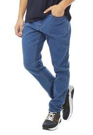 Jeans Slim Spandex I Azules - Hombre Corona