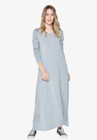 Vestido María Gris Jacinta Tienda
