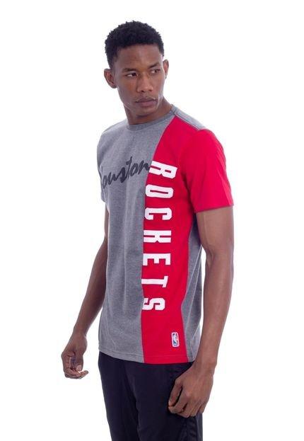 Camiseta NBA Especial Houston Rockets Cinza