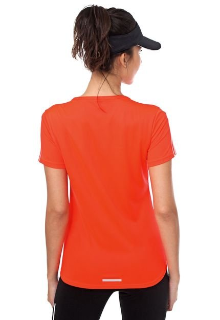 adidas Performance Camiseta adidas Performance Neon Run 3s W Laranja