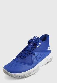 Tenis Basketball Azul-Gris UNDER ARMOUR SC 3 Zero IV