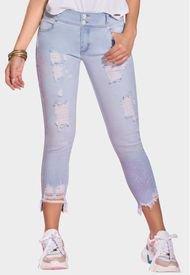 Jeans Mom Levanta Cola Cuba  Azul Claro TYT Jeans