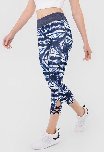 Roxy Legging Roxy Twist Azul/Branco IJCj4
