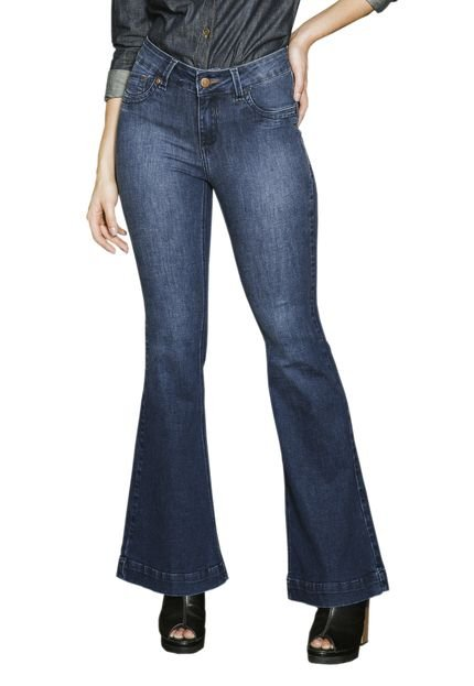 Young Style Jeans Calça Young Style Jeans Premier Jeans Flare Cintura Alta 1QSY8