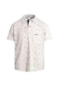 Camiseta Tipo Polo Kaki Puntazul Con Bolsillo