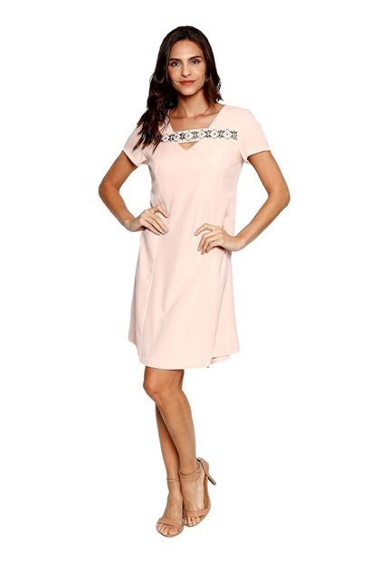 Energia Vestido Plano Energia Fashion Rosa ixlvY