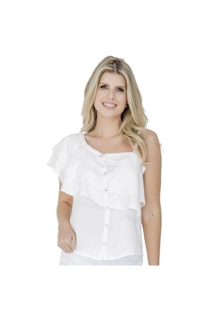 Equivoco Blusa Equivoco Carol Branca w6aZr