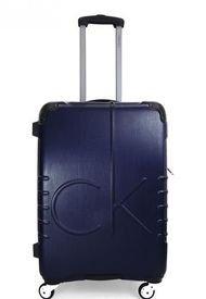 "Maleta Islander Azul 24"" Calvin Klein"