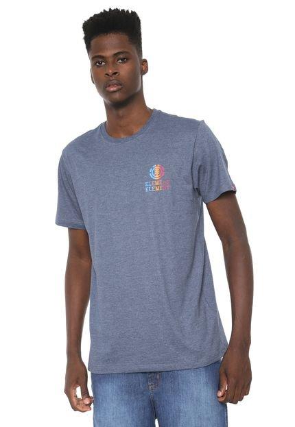 Camiseta Element Drop Azul