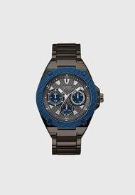 Reloj Análogo Plateado Guess