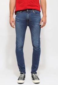 Jeans Levis 510 Skinny Azul - Calce Skinny