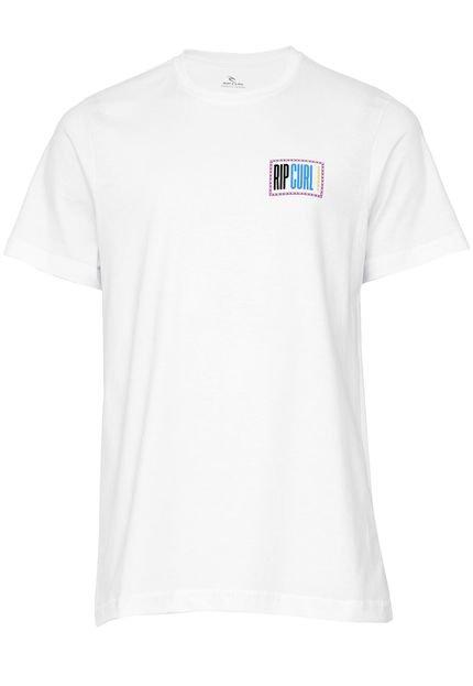 Camiseta Rip Curl Beach Street Branca