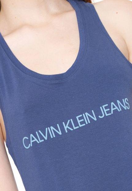 Calvin Klein Jeans Regata Calvin Klein Jeans Logo Azul